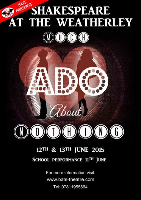 much ado about nothing modern adaptation bats theatre biggleswade theatrical society