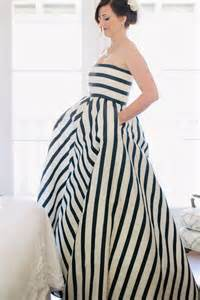striped bridesmaid dress subtle wedding inspiration to keep your big day