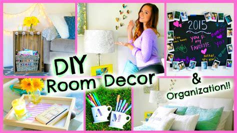 Diy Bedroom Decor And Organization by Diy Room Decor 2015 Organization Decorations For Your