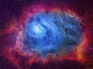 The Lagoon Nebula  M8  Imaged In Sho
