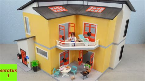 Playmobil Modernes Wohnhaus 9266 Auspacken Seratus1 Neu