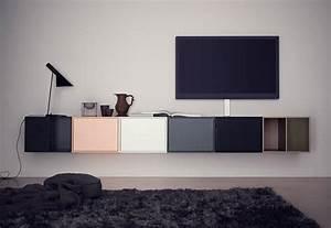 Moderne Tv Lowboards : mit einem tv lowboard das wohnzimmer einrichten ~ Whattoseeinmadrid.com Haus und Dekorationen