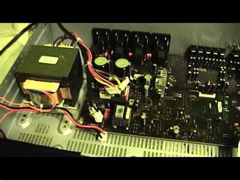 Kitchen Table Electronics Repair: Sherwood RX 5502 Multi