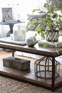 coffee table decor Simple Timeless Ideas How To Decorate A Glass Coffee Table
