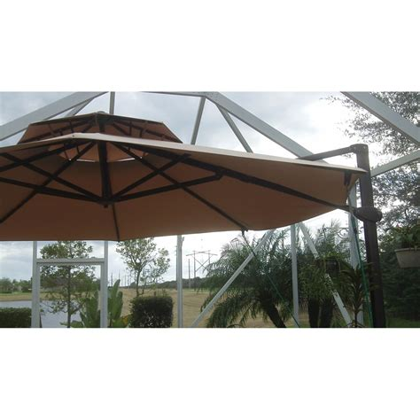 11 ft cantilever umbrella replacement canopy garden winds