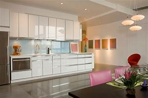 Minimal modern modern kitchen kansas city by for What kind of paint to use on kitchen cabinets for number 7 wall art