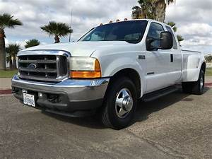 2001 Ford F350 Lariat Dually Ext  Cab Long Bed 2wd 111k