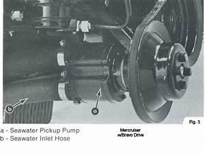 Mercruiser Water Pump Impeller Replacement Diagram