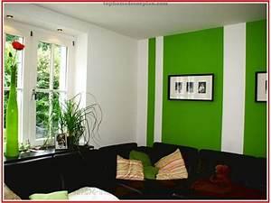 Wandmuster Streichen Ideen : wohnzimmer grun streichen ~ Markanthonyermac.com Haus und Dekorationen