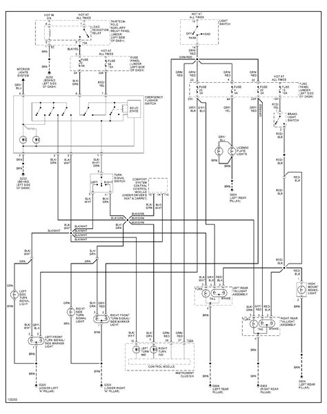 Need The Wiring Diagram For Jetta Hazard Switch