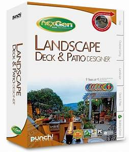 Punch  Landscape Deck  U0026 Patio Designer W   Nexgen Tech
