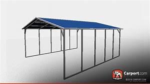 1839 X 2139 Vertical Roof Metal Carport Shelter Metal