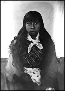 Native American Cherokee Woman