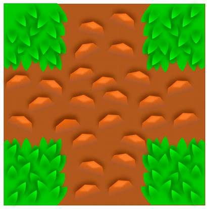 Grass Tile Clipart Pattern Vector Component Based