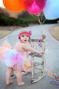 Shoot Baby Girl 1st Birthday Idea