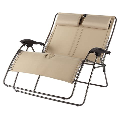 wide zero gravity lounger at brookstone buy now