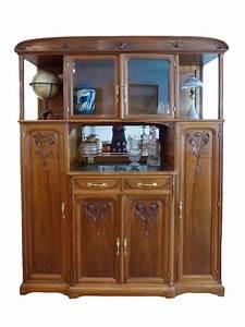 Art Nouveau Mobilier : art nouveau salle manger en noyer style ecole de nancy ~ Melissatoandfro.com Idées de Décoration