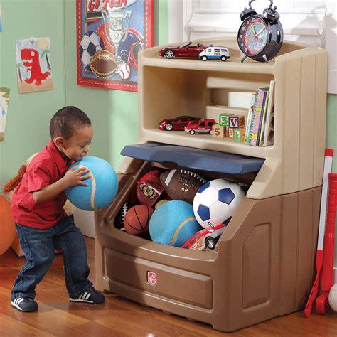 Bookshelf Storage Chest Kids Toy Box Plastic Play Room