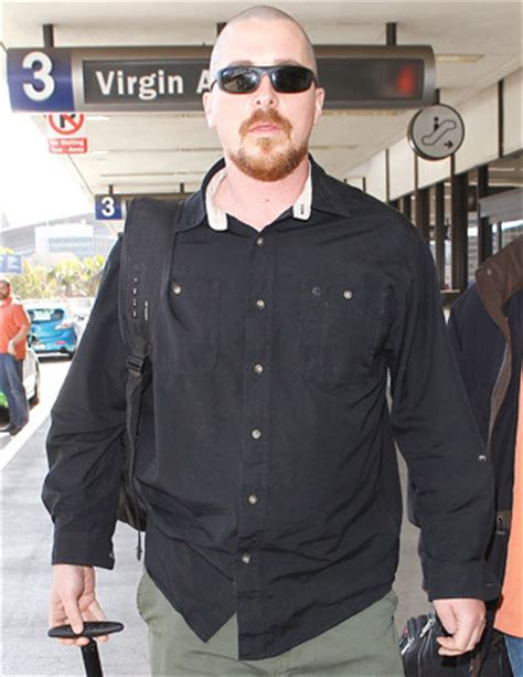 Christian Bale Unrecognizable With Shaved Head Pic