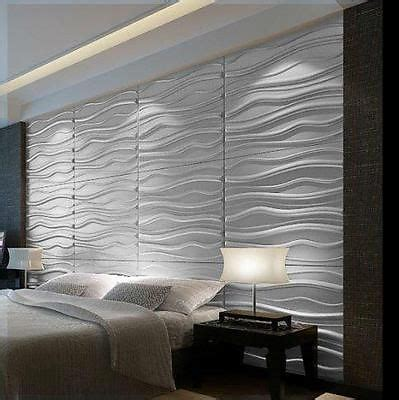 modern waves  wall panel textured glue  wall tiles