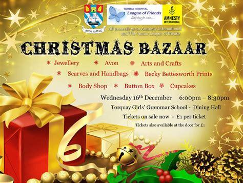 tggs christmas bazaar torquay girls grammar school