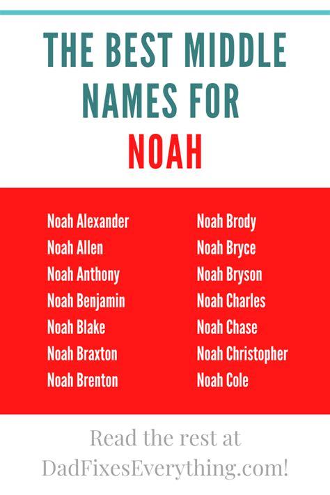 names middle noah go hebrew