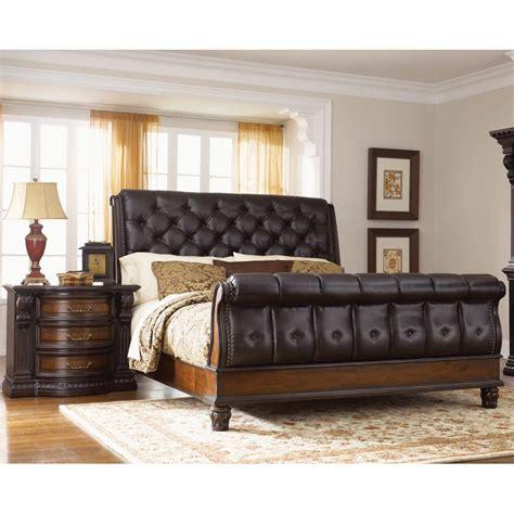 upholstered king bedroom set grand estates upholstered 6 king bedroom set