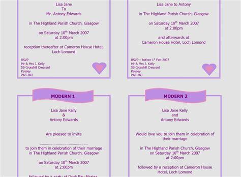 34 Capture Wedding Invitation Formal Wording Comfortable