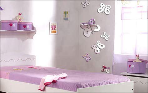 chambre fille papillon deco chambre bebe fille papillon
