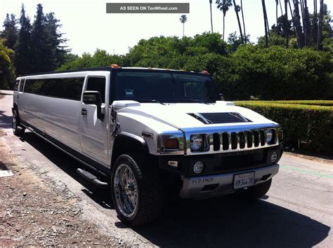H2 Limo by 2008 Hummer H2 Limousine Limo