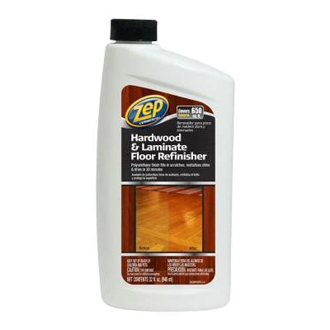 Zep Floor Sealer Home Depot by Zep 32 Oz Hardwood And Laminate Floor Refinisher Of