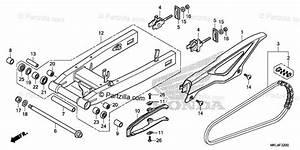 Honda Motorcycle 2019 Oem Parts Diagram For Swingarm