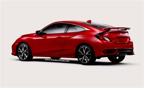 2019 Honda Civic Coupe Touring Review  Honda Civic Updates