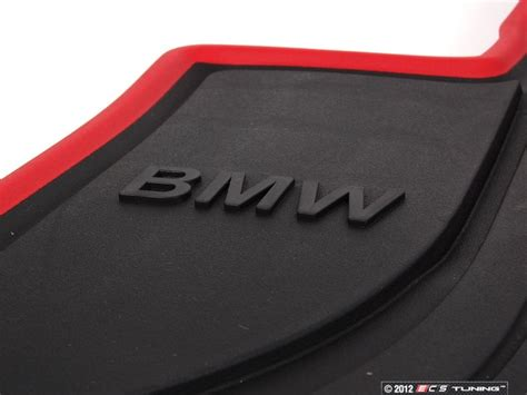 weather track mats genuine bmw 51472219800 sport line front rubber floor