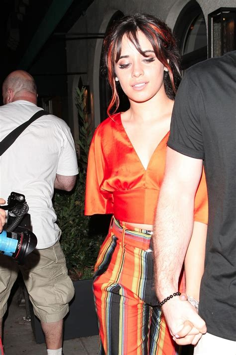 Camila Cabello Leaves Madeo Restaurant Beverly Hills