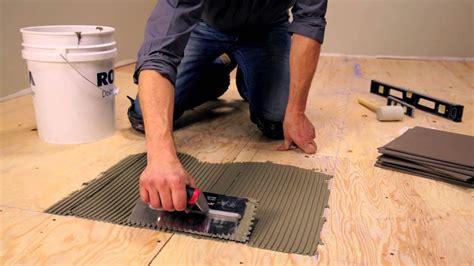 rona   lay floor tiles youtube