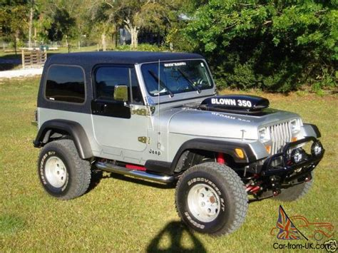 1988 Jeep Wrangler Chevy 250 V8 Supercharged 4wd Rebuilt 2008