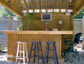 Outdoor Tiki Bar Ideas