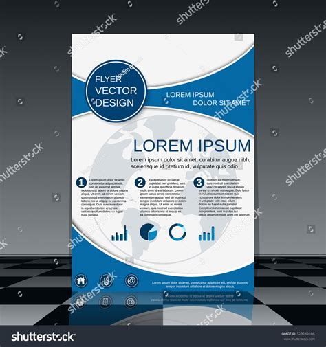 Brochure Vector Mock Up Template Millions Vectors Brochure Vector Template Booklet Mock Up Business