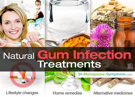 Gum Infection Treatments | Menopause Now