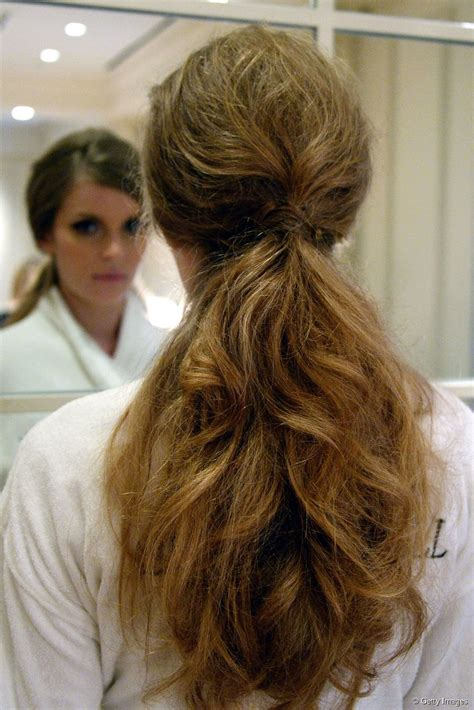 hairstyle trends 3 ways to wear a low ponytail