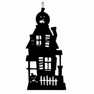 Haunted House - Decorative Hanging Silhouette