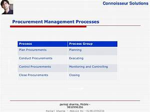 project procurement management pmbok 5 With procurement documents project management
