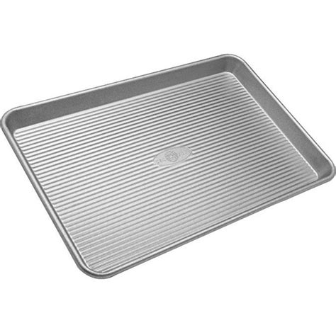 baking sheets sheet pan clean half nonstick dingy cookie pans chowhound cleaning gluten