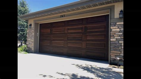 Utah Garage Door Painting ( Make Your Doors Look Like Wood