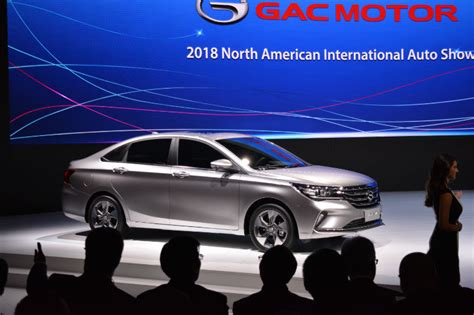Gac Motor At The 2018 North American International Auto
