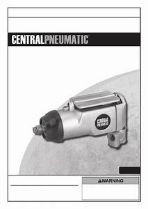 Harbor Freight Tools 3  8 In  Butterfly Air Impact Wrench