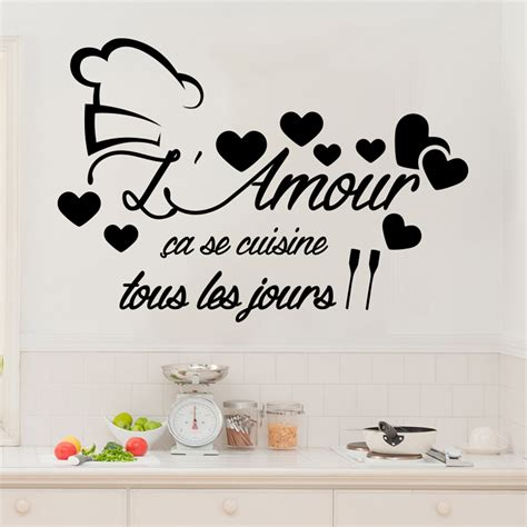stickers citation cuisine pretty stickers muraux cuisine photos gt gt sticker cuisine
