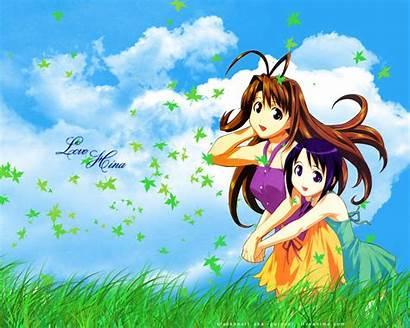 Hina Shinobu Maehara Naru Spring Wallpapersafari Anime