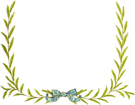 framing leaves simple christmas wreath frame images the graphics fairy